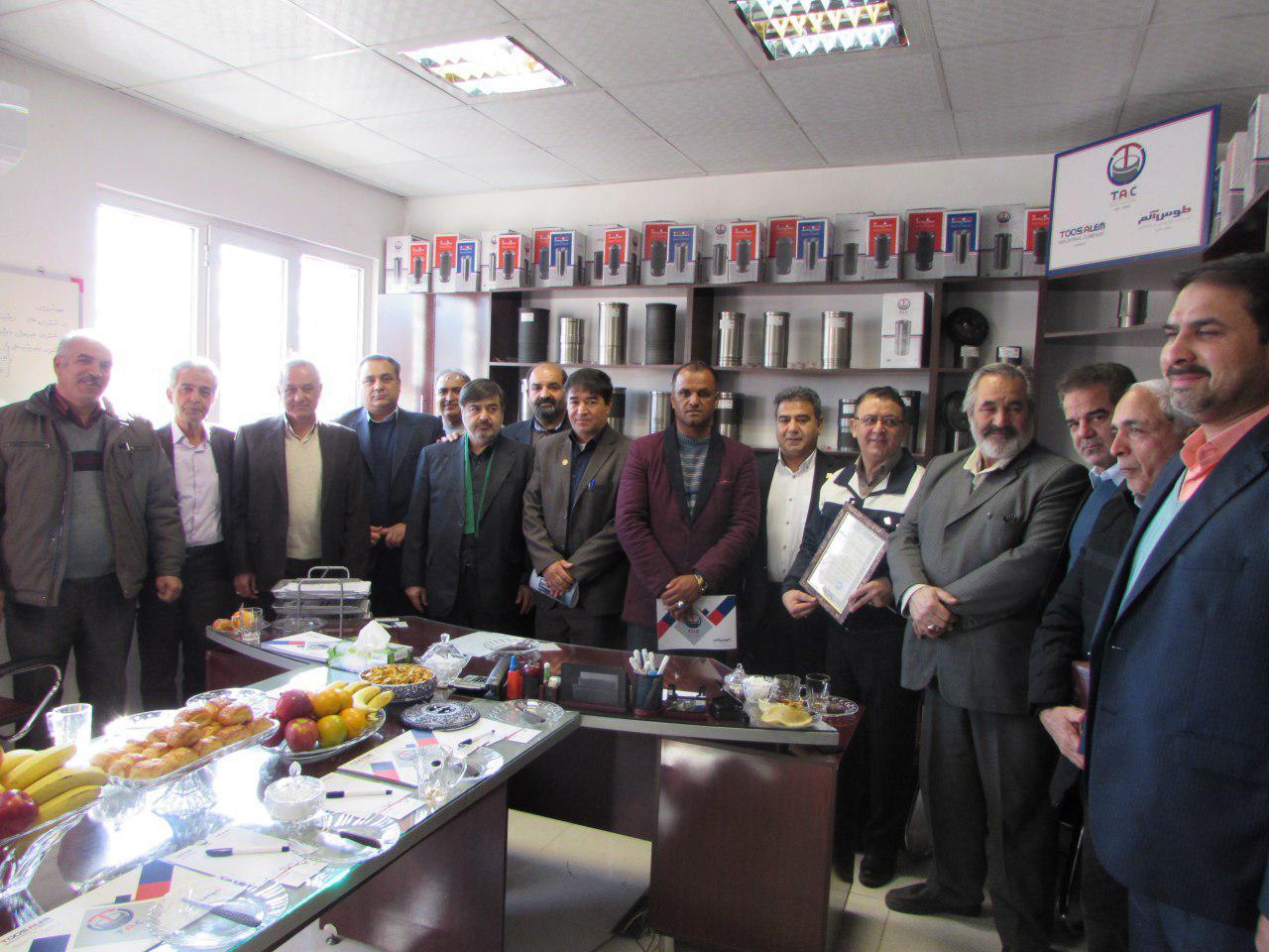 بازدید هیات تجاری افغانستان در معیت هیئت مدیره اتحادیه